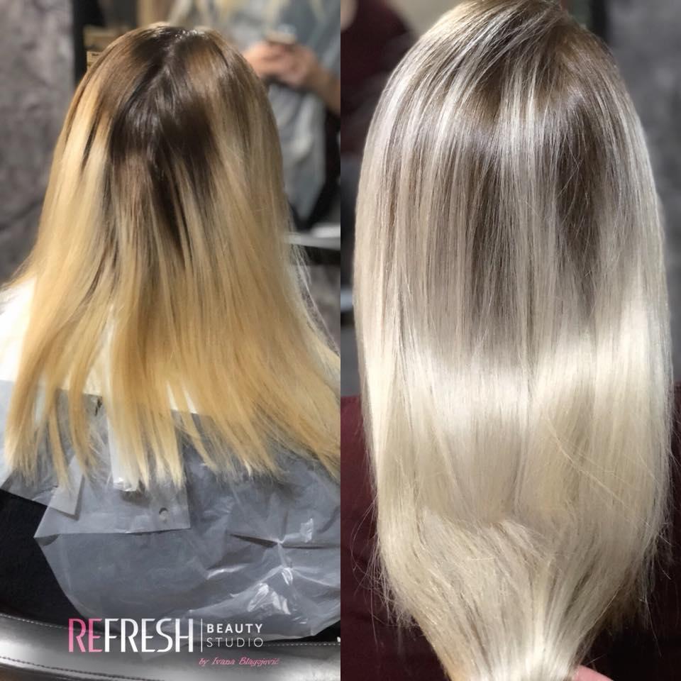 nadogradnja kose keratinom