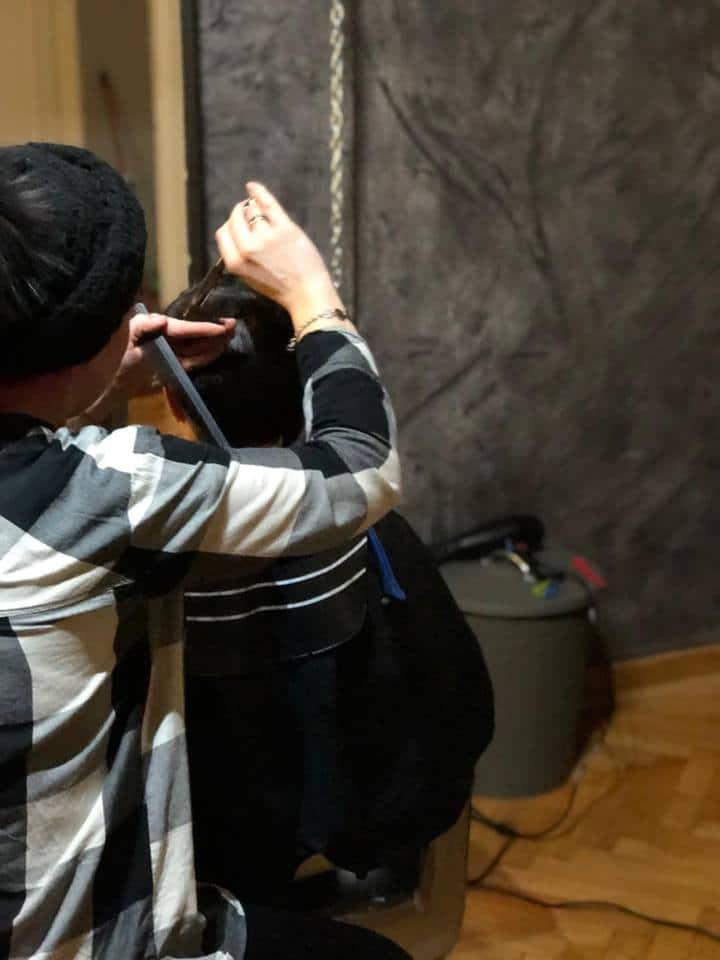 muško šišanje - tehnike