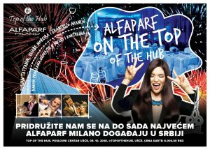 Alfaparf Srbija show